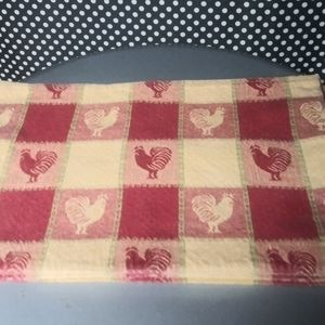 Rooster cloth placemats 4